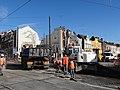 Anzin & Valenciennes - Travaux de raccordement des lignes A & B du tramway de Valenciennes à la Croix d'Anzin le 13 août 2013 (14).JPG