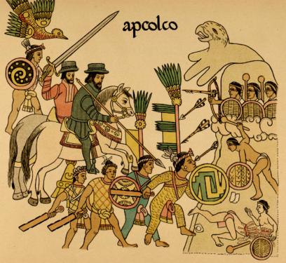 HISTOIRE de l'ANCIEN MEXIQUE.<br>La Guerre contre Tenochtitlán V