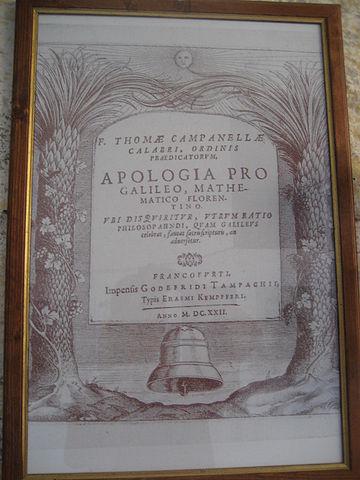 Титульный лист «Апологии Галилея»