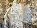 April 2019. Rock-relief of Darband-i Belula, Horen Shekhan, Sulaymaniyah, Iraq, c. 2000 BCE.jpg