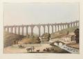Aqueduct of Alcantara (1809) - J. Clark after Bradford and H. Michel.png