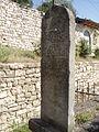 Arabic gravestone, Berat, Albania.JPG