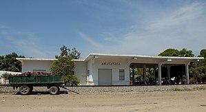 Aracataca - Aracataca train station, one of the literary settings of Gabriel Garcia Marquez´s novel.