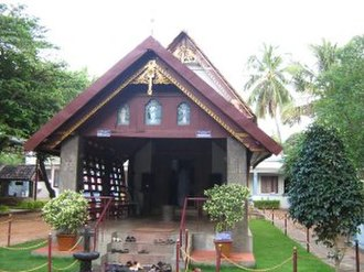 Christianity in Tamil Nadu - Thiruvithamcode Arappally under Malankara Orthodox Syrian Church is believed to be built by Thomas the Apostle