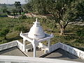 Architectural Work behind the Relic Stupa.jpg