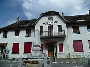 Arenthon town hall.JPG