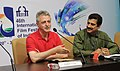 Argentinian Filmmaker, Pablo Cesar addressing a press conference, at the 46th International Film Festival of India (IFFI-2015), in Panaji, Goa on November 25, 2015.jpg