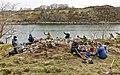 Arkeologisk feltkurs Hitra mai 2012 (6992122970).jpg