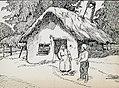 Armata 9 germana - Album foto - Gravura - casa taraneasca romaneasca.jpg