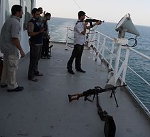 examples of piracy at sea