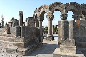 Zvartnots Cathedral - Image: Armenië Kaukasus (2896850946)