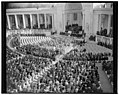 Armistice Day services at Arlington. Washington, D.C., Nov. 11. General view of the services at Arlington National Cemetery today to mark the 21st anniversary of the signing of the LCCN2016876597.jpg