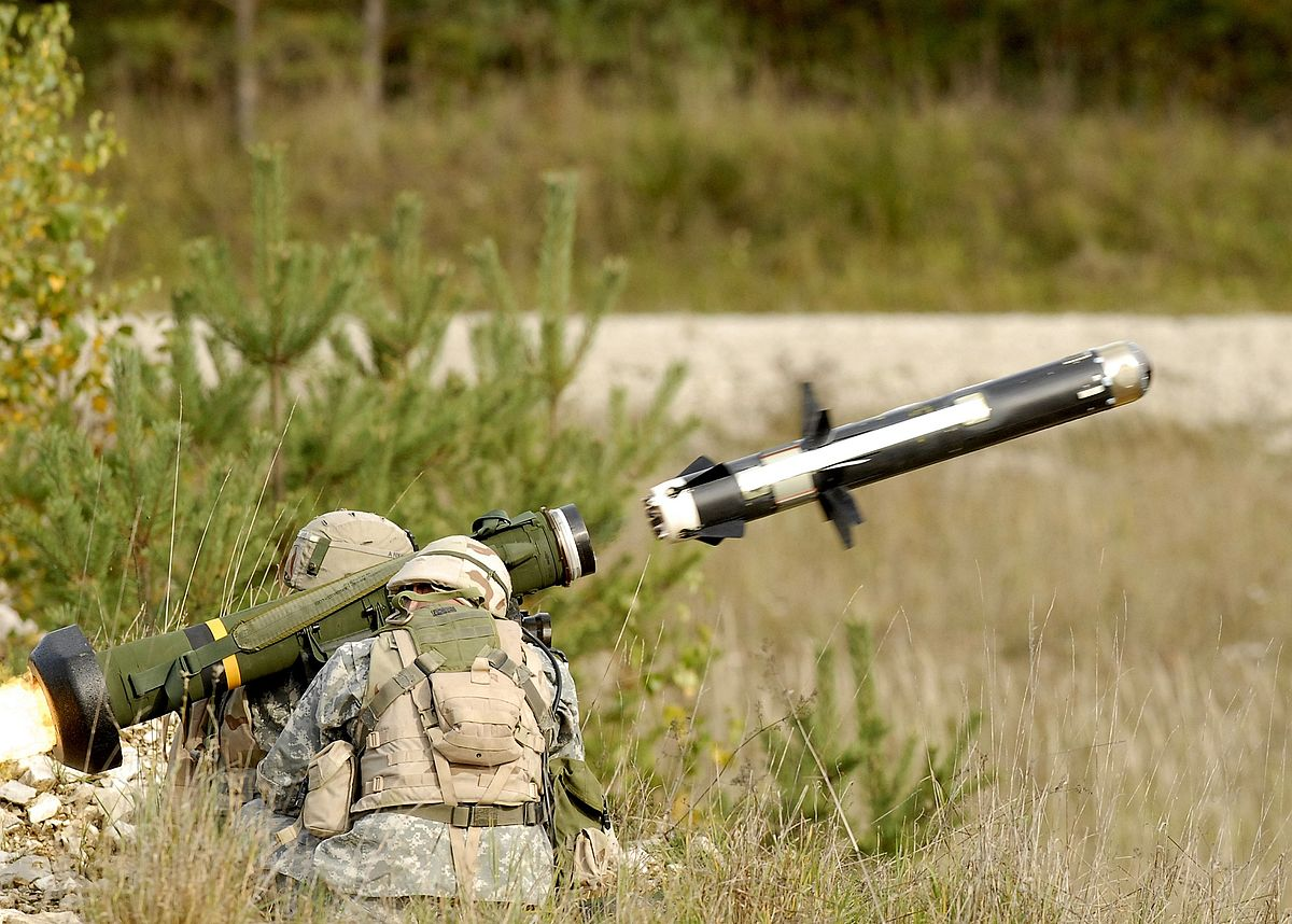 The first public demonstration of Javelin anti-tank missile systems in Georgia 61