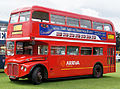 Arriva Heritage Fleet Routemaster coach RMC1453 (453 CLT), 2011 Alton bus rally (2).jpg