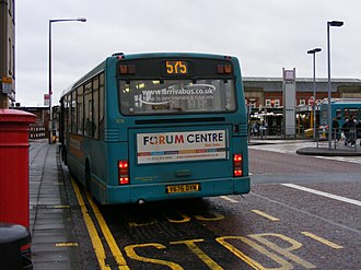 Marshall Capital - Image: Arriva North West bus 7676 (V676 DVM), 28 December 2007 (2)