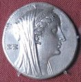 Arsinoe II portrait silver Collection of J. Demetriou.jpg