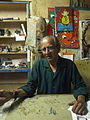 Artist Vamona Navelcar, in Goa, India.3.JPG
