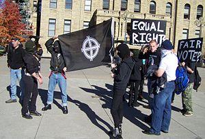 Aryan Guard - Aryan Guard rally in Calgary in October 2007