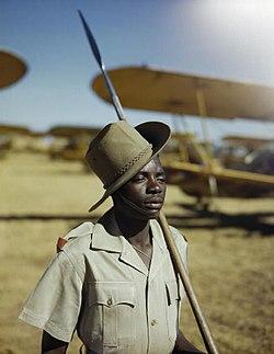 Askari soldier