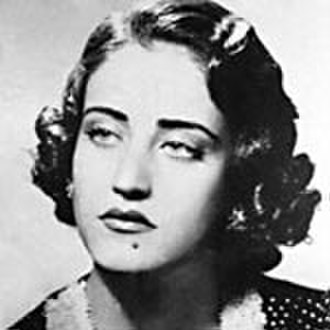 Women in Arab societies - Asmahan a prominent Arab singer and actress  (1912-1944).