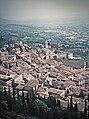 Assisi 1995, Santa Chiara. oto analogica (rifotografato) scattata nel 1995 a Assisi.jpg