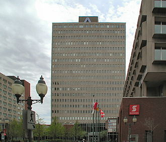 Assumption Life - Assumption Place, a 20 storey office building in Downtown Moncton is the headquarters of Assumption Life