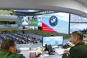Astra Linux - Astra Linux Special Edition is being used in the Russian National Center for Defence Control