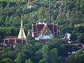 At Wat PraThat Doi Leng Can be seen Wat PraThat Chor Hair.@Phrae,Thailand.DSCF6113.JPG