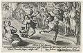 Atalanta en Hippomenes Metamorfosen van Ovidius (serietitel), RP-P-OB-15.961.jpg