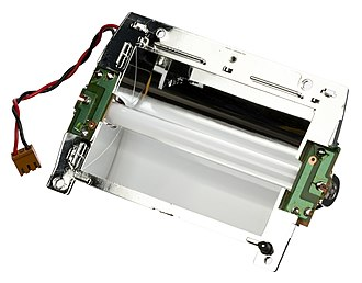 Atari Lynx - The backlight from an Atari Lynx II.  The CCFL tube used is very power hungry, giving the system short battery life.