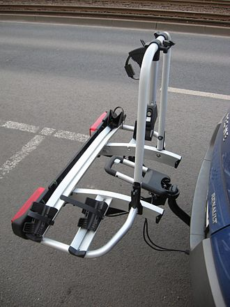 Bicycle carrier - Image: Atera Strada DL2 Fahrradträger