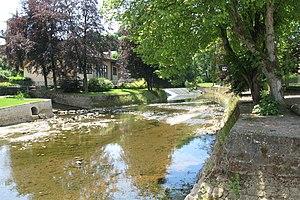 Attert (river) - The Attert in Useldange