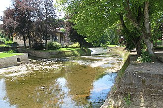 Attert (river) - The Attert in Useldange