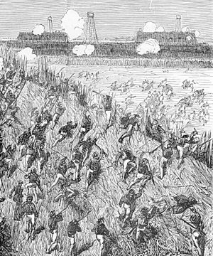 Battle of Thuận An - The attack on the Thuan An forts, 20 August 1883