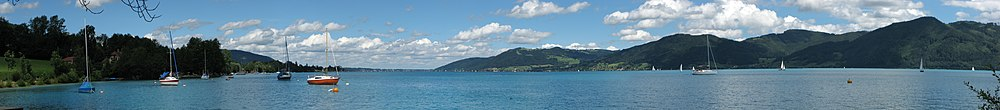 Attersee Tiefe