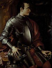 Portrait of Giovanni della Bande Nere, 1498-1526