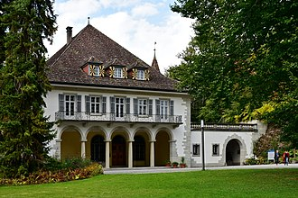 Schloss Au - main entrance