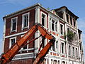 Auberchicourt - Démolition des Grands bureaux de la Compagnie des mines d'Aniche le 24 juillet 2013 (16).JPG