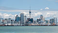 Auckland Skyline as seen from Devonport 20100128 3.jpg