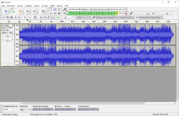 Audacity Version 2.1.2
