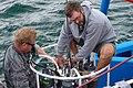 August 9, 2011 Crew technicians work away on the CTD (6027309693).jpg