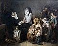 Augustins - La mort d'une soeur de charité, 1850 - Isidore Pils Inv. R.F. 1986-82.jpg