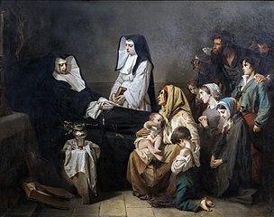 La Mort d'une soeur de charité