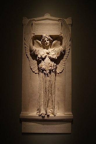 Silas Weir Mitchell (physician) - Image: Augustus Saint Gaudens, The Angel of Purity (Maria Mitchell Memorial) (1902)