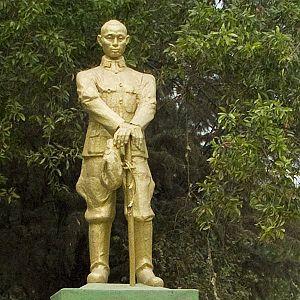 Aung San statue, Myanmar
