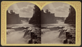 Ausable (Au Sable) Chasm. Birmingham and Horseshoe Falls, by Stoddard, Seneca Ray, 1844-1917 , 1844-1917.png