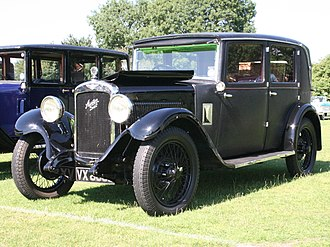 Austin 12/6 - Light Twelve-Six Clifton 4-light fabric sports saloon c. 1931-1932