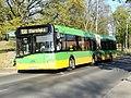 Autobus Solaris Urbino 18 MPK Poznań linii 158 na ulicy Sypniewo w Poznaniu - kwiecień 2020.jpg