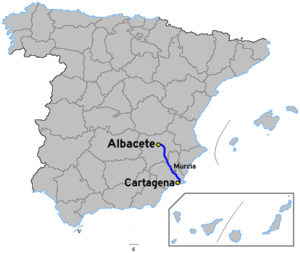 Autovía A-30 - Image: Autoviaesp a 30