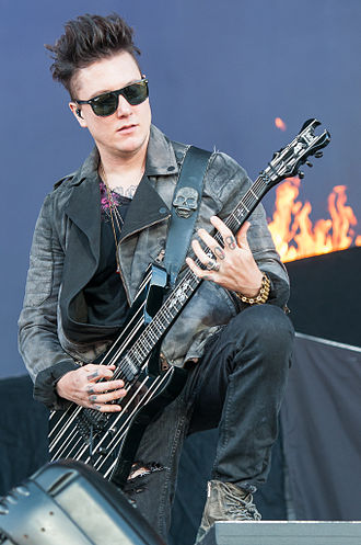 Synyster Gates - Synyster Gates performing at Rock im Park in 2014